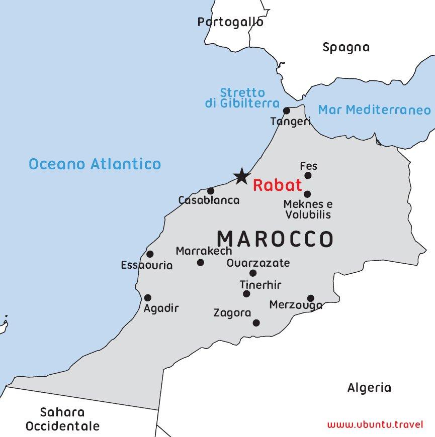 Cartina Muta Marocco.Taccuino Di Viaggio Ubuntu Travel
