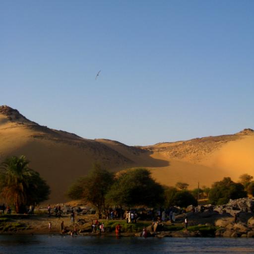 Navigando il Nilo fino al Cairo