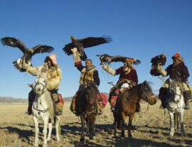 Mongolia, Golden Eagle tour 2017