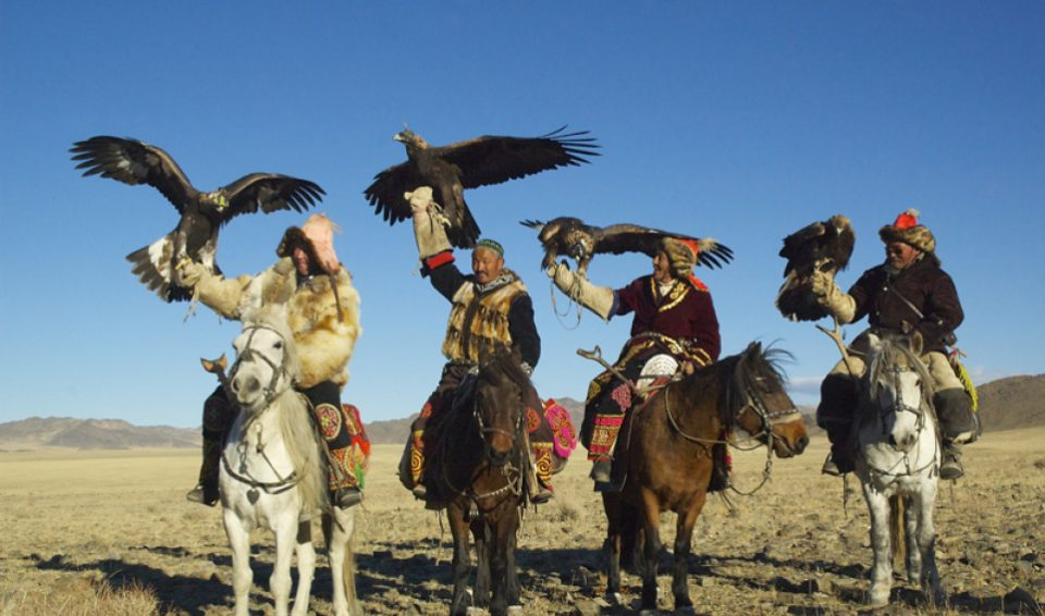 Mongolia, Golden Eagle tour 2017