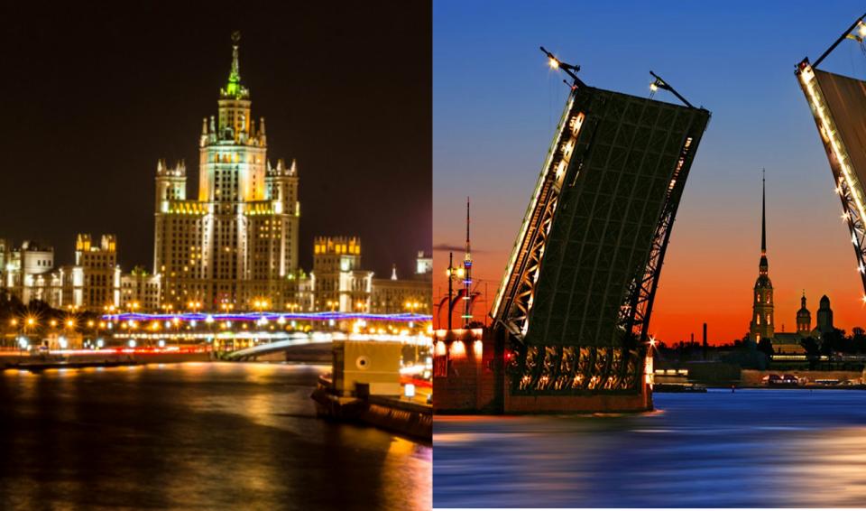 Russia, Mosca e San Pietroburgo in libertà – garantito  apr./ott. 2017