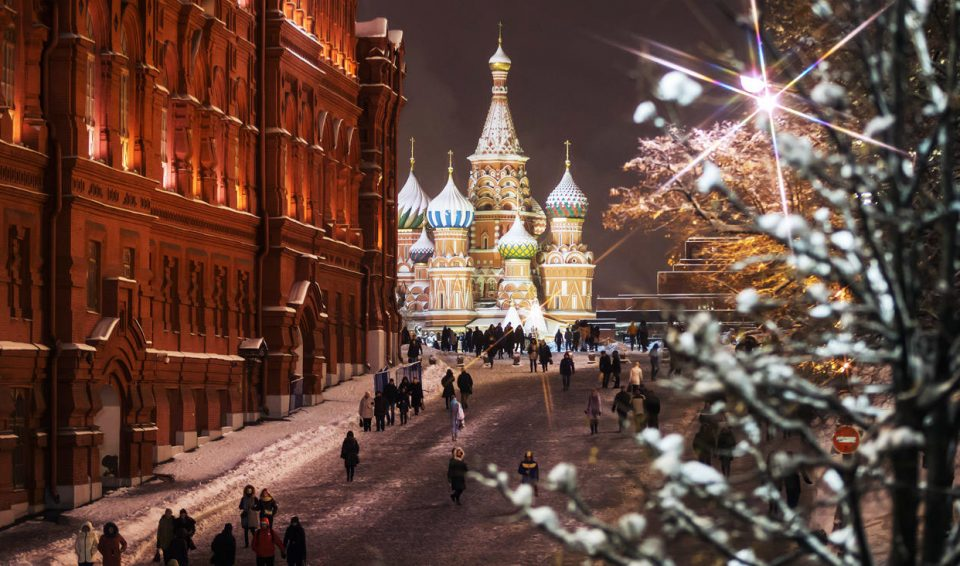 Russia, Mosca & San Pietroburgo 7gg – set.'17/apr.'18