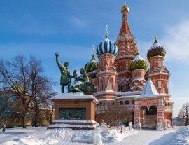 Russia, le suggestioni di Mosca 4gg – set.'17/apr.'18