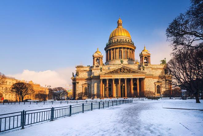 Russia, il fascino di San Pietroburgo 4gg – set.'17/apr.'18