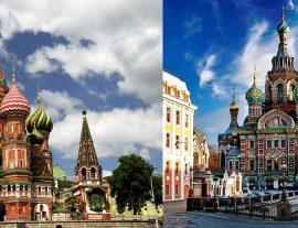 Russia, Mosca & San Pietroburgo 7gg – apr./set.'18