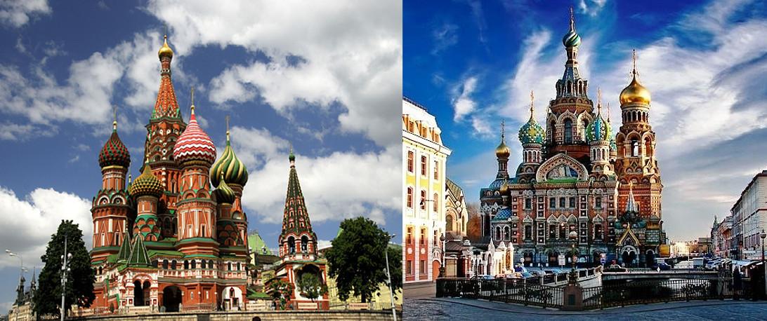 Russia, Mosca & San Pietroburgo 7gg – set./apr.'18