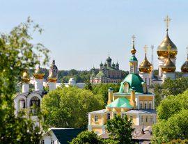 Russia, San Pietroburgo con Mosca & Anello d'Oro 8gg – apr./ago.'18