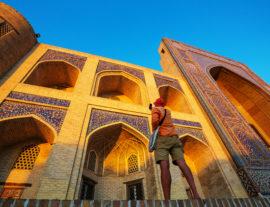 Uzbekistan, le nostre impronte sulla via della seta
