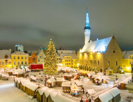 Tallinn e i Mercatini di Natale