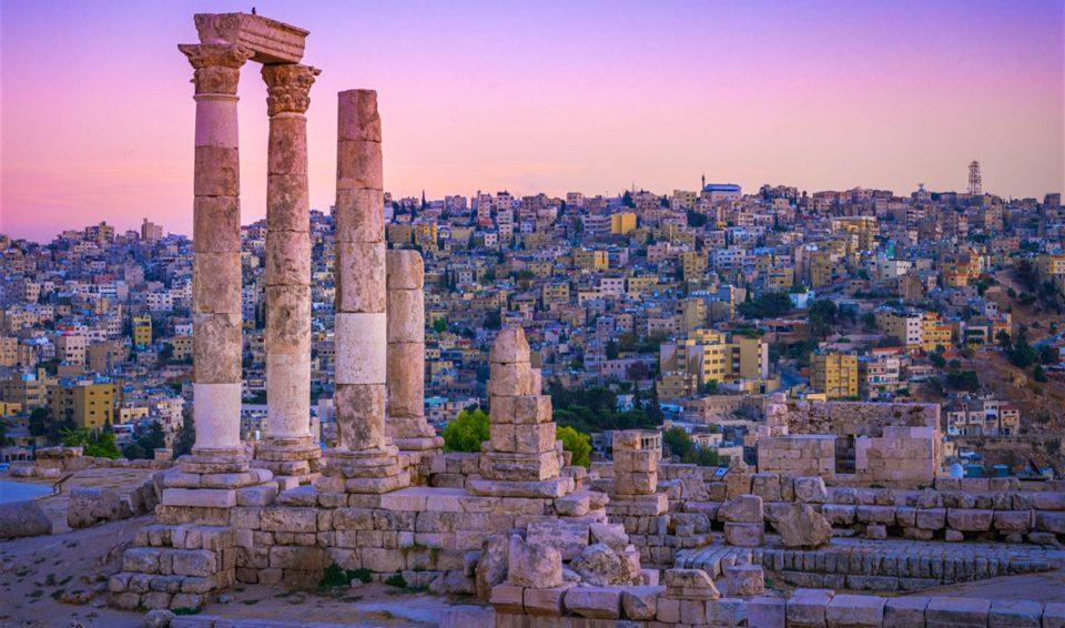 Giordania, blu e oro