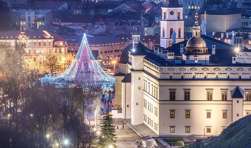 Vilnius e i Mercatini di Natale