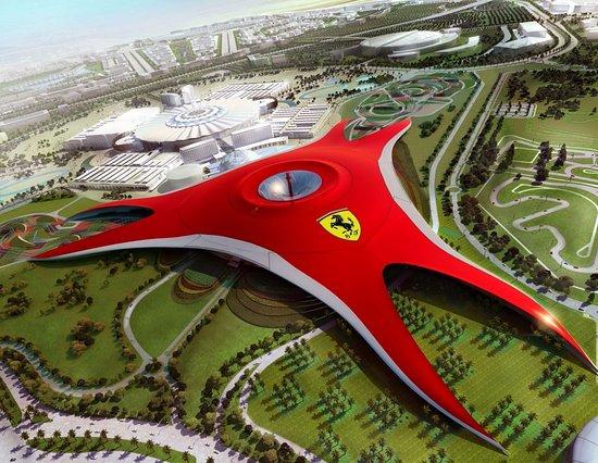 Abu Dhabi_Ferrari World