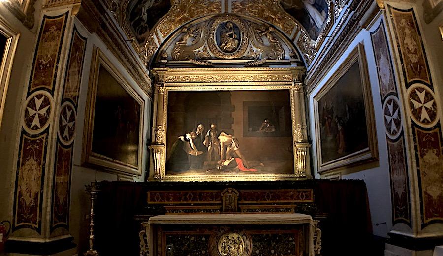 Valletta_Cattedrale di Saint John _Caravaggio, Decapitazione di San Giovanni
