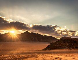 Capodanno nel deserto giordano